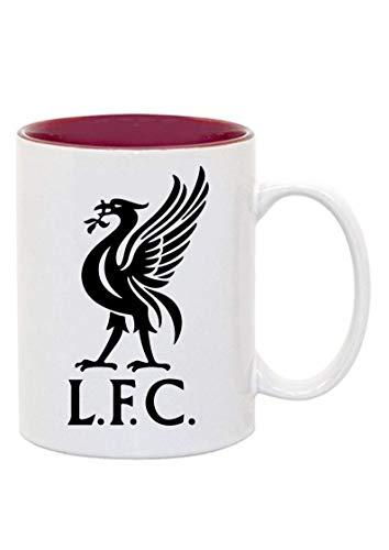 MADE Offizielle FC Liverpool Tasse, Becher, Mug Two Tone,Fussball, Sport, Accessoires