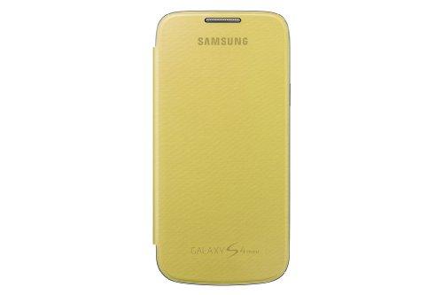 Samsung Hülle Schutzhülle Clip-On Flip Case Cover für Samsung Galaxy S4 Mini - Gelb