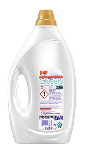 Dixan Detergente Líquido Frescor Energizante Pack de 4, Total: 120 Lavados (6 Litros)