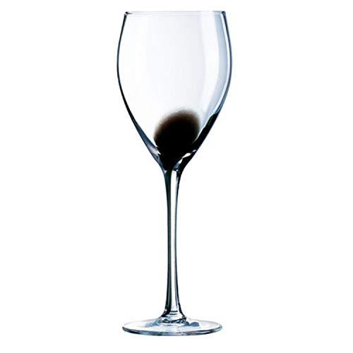 Luminarc Copas Vino Estuche 4 27 Cl Modelo Drip Black