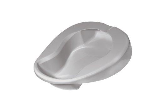 Drive Medical Contoured Bed Pan, Grey
