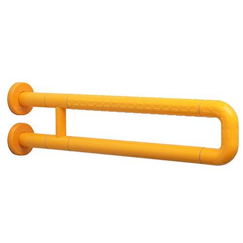 Byfjkkl Wandarmlehne, Edelstahlzubehör Hand WC Haltegriff Bad Dusche Sicherheitsstütze, Verwendung Für Behinderte Und Ältere Menschen,Gelb
