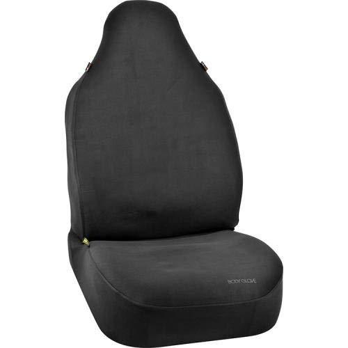 Body Glove 22-1-70331-9 Bucket Seat Cover (Universal Black Neoprene Snug Fit), 1 Pack
