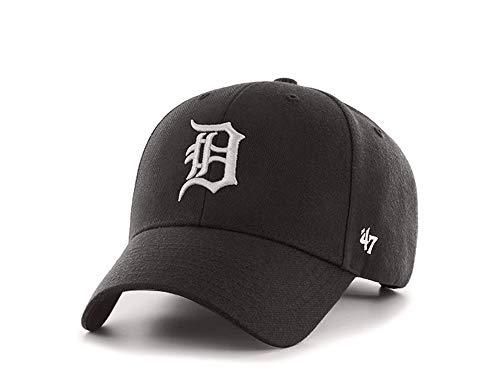 47 Brand MVP Snapback Cap - Detroit Tigers - MLB Baseball - Kappe Schwarz