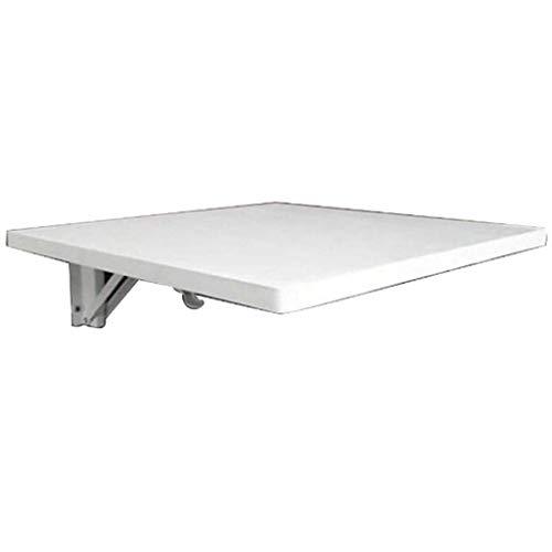 YO-TOKU Mesa plegable para ordenador de pared, mesa de comedor, mesa de madera, para oficina, hogar, cocina, mesa de jardín, accesorios de fruntura