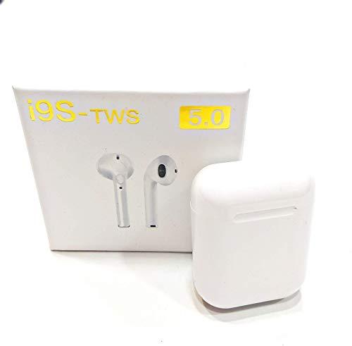I9S - TWS con Estuche de Carga i Funda Auriculares inalámbricos, Bluetooth 5.0 Auriculares Bluetooth,