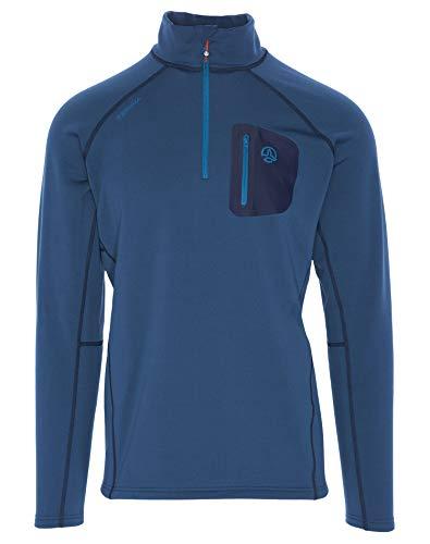 Ternua Lezat M Camiseta, Hombre, Azul (Dark Lagoon), S