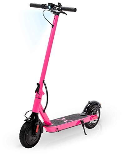 Hover-1 Journey Electric Folding Scooter, Pink, (Unfolded) 42 x 16.5 x 44.8 inches (Folded) 42 x 16.5 x 19.2