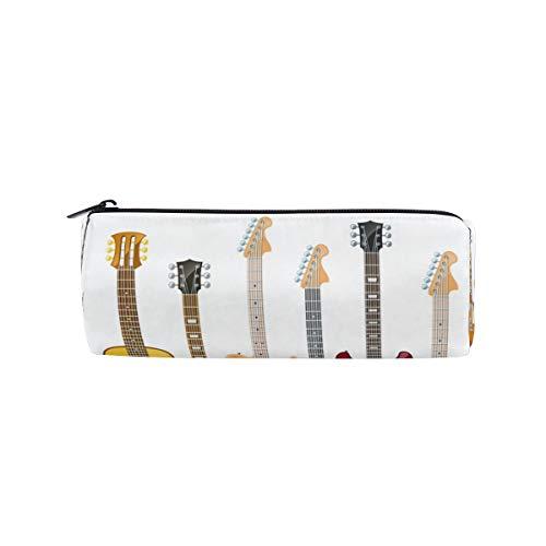 Ahomy Estuche para lápices, guitarra eléctrica, bolsa de almacenamiento para estudiantes, bolsa...
