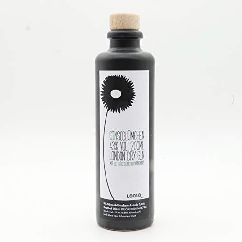 Ginseblümchen Gin; Schwäbischer Gin mit Bio Gänseblümchen (1 x 0,2 l)