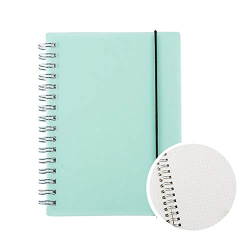EEUK Libreta Bullet Journal A6 Puntos Cuadernos Anillas,Libretas de Ejercicios,No Sangrar