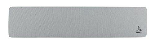 envo Wrist Pad - Series Mid, Handgelenkauflage für Tastaturen / mechanische Tastaturen / Keyboards, 45 x 10 x 1,5 cm, Platinum Gray