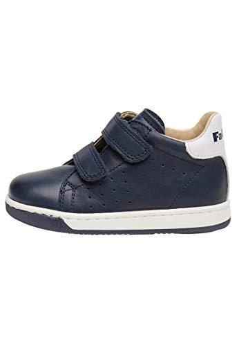 Falcotto ADAM VL-Ledersneaker-Marineblau azurblau 25