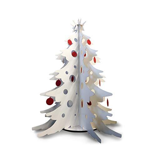 Scatolificio Crippa Albero di Natale in Cartone con Decorazioni - Alt. 150 cm