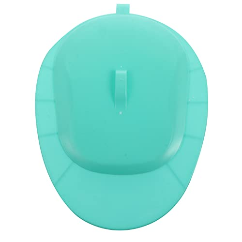 Healifty Bedpans with Lid Firm Thick Stable Bedpan for Male Female Bed- Bound Patient Personal Care Green