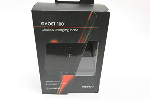 Incipio Ghost100 Wireless Qi Charging Pad - Black (PW-150) (Pre-Owned)