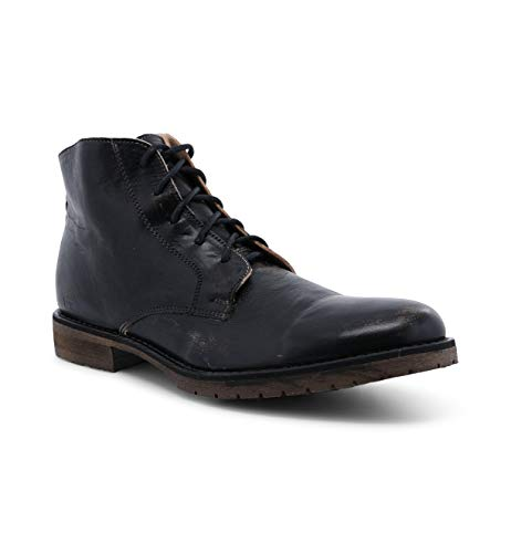 Bed|Stu Men's Hoover II Leather Boot (10.5 M US, Black Hand WASH)