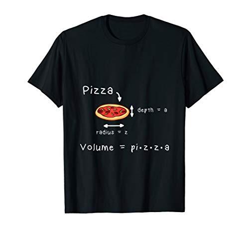 Pizza und Mathe - Meme | Lustiges Mathematik Lehrer T-Shirt