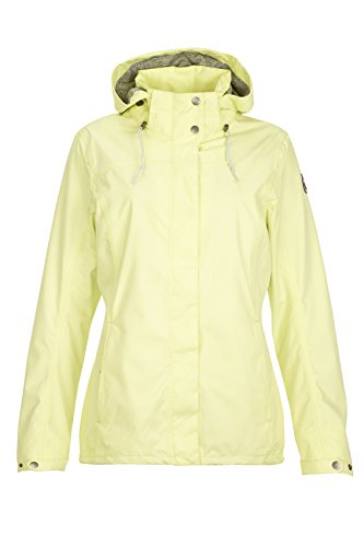 Killtec Damen Lineria Outdoorjacke, hellgelb, 40