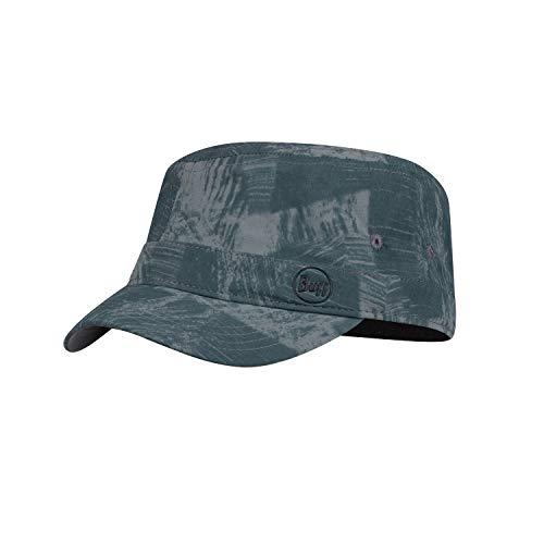 Buff Military Cap Casquette Mixte, Gris, L-XL