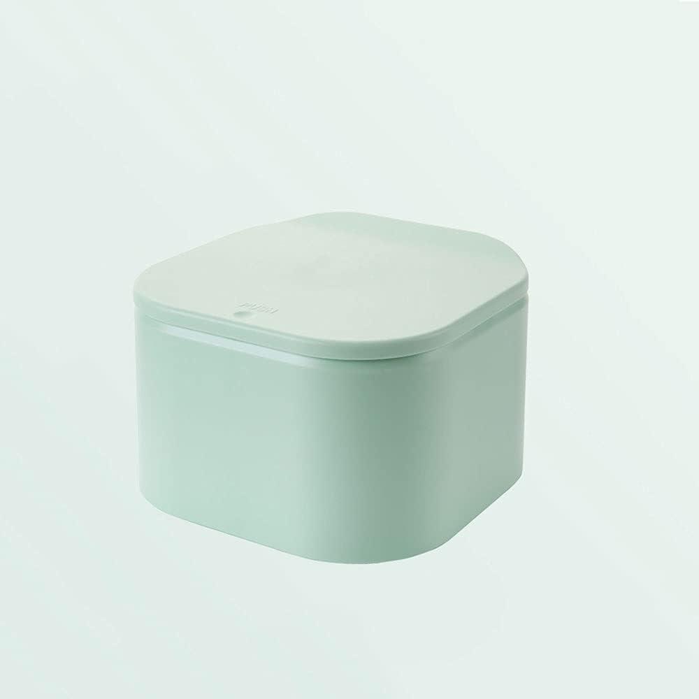 XDYNJYNL Shatter-Resistant Creative Button-Type Max 58% OFF Trash Ca High order Desktop