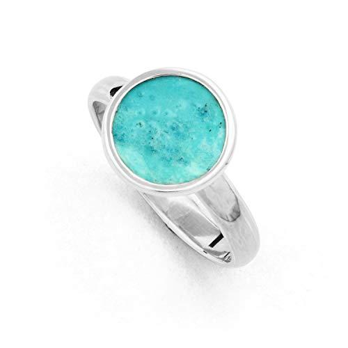 """DUR Damen Ring\""""Patina\"""" aus 925er Silber Größe 52 (16.6) R4857.52, 52 (16.6)"""