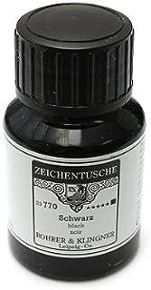 Rohrer & Klingner 50 ml Bottle Calligraphy Ink   Black / Schwarz