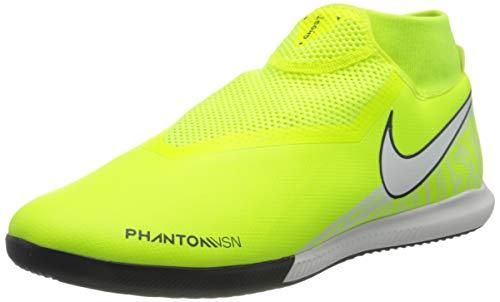 Nike Phantom Vision Academy Dynamic Fit IC, Botas de fútbol Unisex Adulto, Verde (Volt/White/Volt 717), 47.5 EU