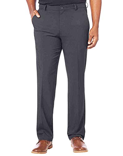 Greg Norman Mens Ultimate Travel Pants (36x30, Mid Gray)