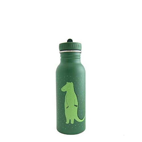 Trixie Kindertrinklasche Edelstahltrinkflasche Trinkflasche aus Edelstahl (Krokodil, 500 ml)