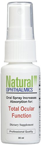 Natural Ophthalmics Total Ocular Function Oral Spray, 30 ml