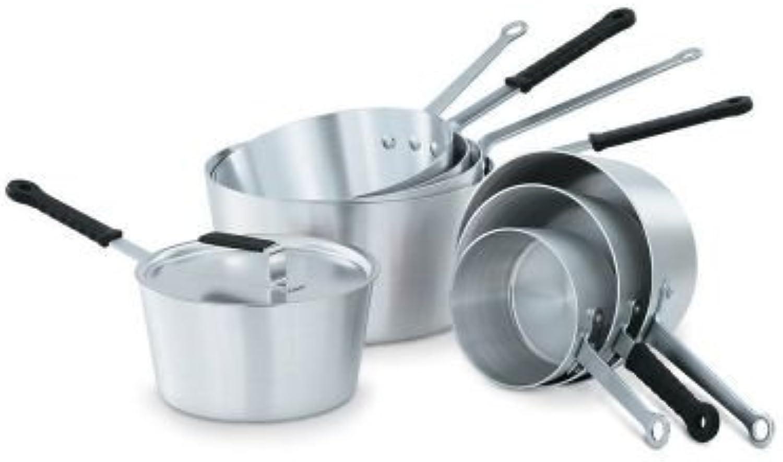 Vollrath 67308 Wear-Ever Tapered Aluminum 8.5 Qt. Sauce Pan