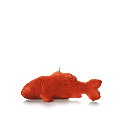 Wachskörper Wachsobjekt Kerze, Koi Fisch, Dukat, 130 x 320 mm, Wachskulptur, Wohnaccessoires, Tierkerze