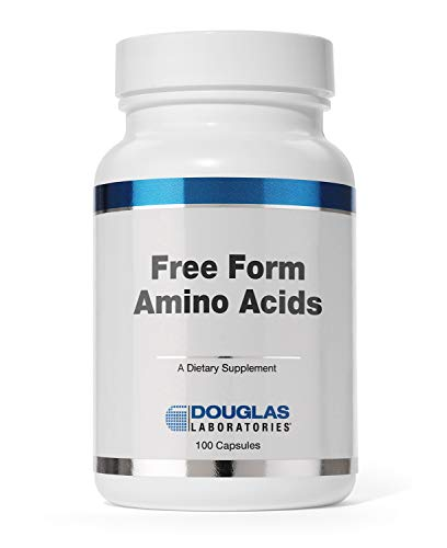 Douglas Laboratories - Free Form Amino Capsules - Balanced Mixture of Amino Acids to Support Overall Health - 100 Capsules