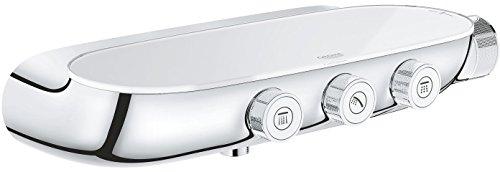 Grohe Grohtherm Smartcontrol Thermostatbatterie mit 3 Absperrventilen, auf-/Unterputz Kombination, 1 Stück, 34713000