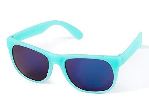 Kiddus Gafas de Sol para niña, niño, chico, chica. CAMBIAN DE COLOR cuando se exponen a luz solar directa. UV400 Protección 100% contra rayos ultravioleta. A partir de 6 años.