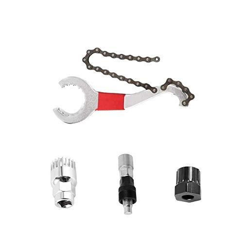 Herramientas para Bicicletas: Extractor de bielas, Llave de piñón de Bicicleta, Extractor de manivela de Bicicleta, Extractor de Soporte Inferior, Extractor de Cassette Herramienta de Soporte Inferior