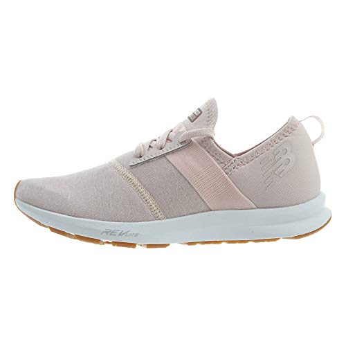 New Balance womens Fuelcore Nergize V1 Sneaker, Conch Shell/White/Heather, 7.5 US
