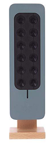 TeqAir200 Geräuschloser und diskreter Luftreiniger | Luftionisator für 30m2 | Made in France | Stromverbrauch fast Null | Keine zu wechselnden Filter | Ideal für Zimmer