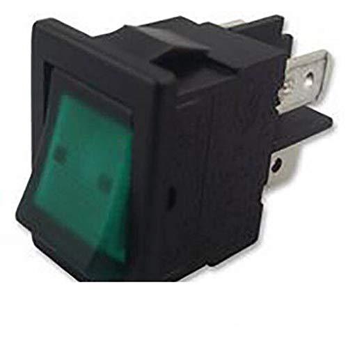 King-HighTech - Conmutador de balancín, color verde