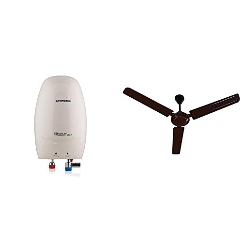 Crompton Solarium DLX 3 Litre Instant Water Heater (Ivory)