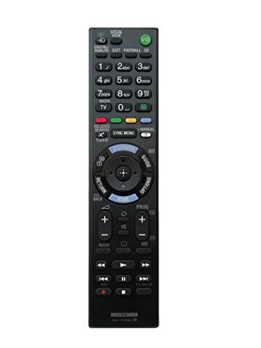 LipiWorld® RMT-TZ120E Remote Control for Sony Smart TV LED TV with 3D Football REC