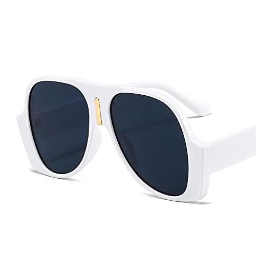 Gafas De Sol De Moda Unisex Gafas De Sol Retro De Gran Tamaño, Cuadradas De Moda para Hombres Y Mujeres, Gafas Uv400, Gafas Vintage, Imágenes