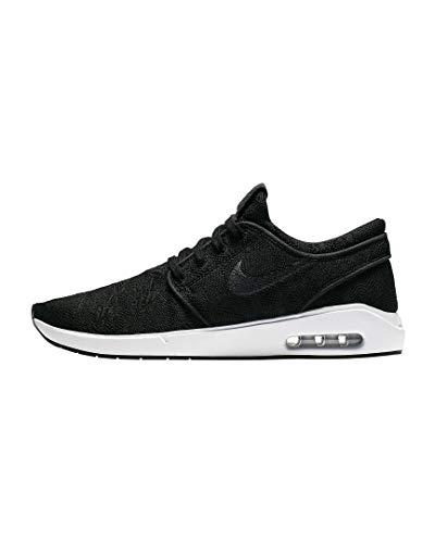 Nike Mens SB AIR MAX Janoski 2 Walking Shoe, Black Anthracite White,45 EU