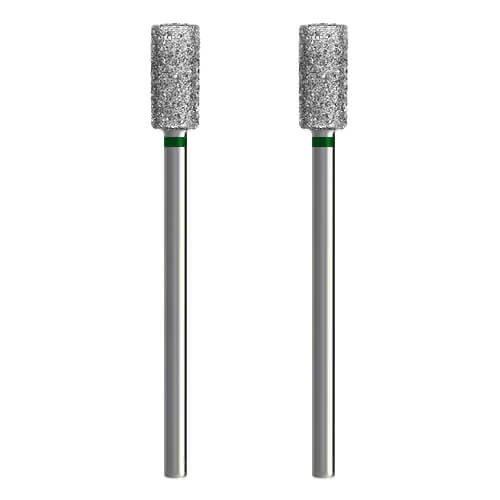 2x Diamant-Schleifer / Schleifstift [Ø 5 x 10 mm - grob] für Dremel, Proxxon ..