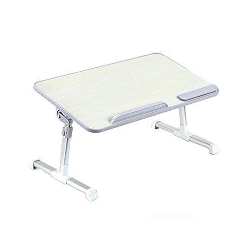 LiuJianQin ZDZ Table Pliante/Raisable/Portable/Amovible/Table d'ordinateur/Table à Manger (Couleur : A, Taille : 52 * 30CM)