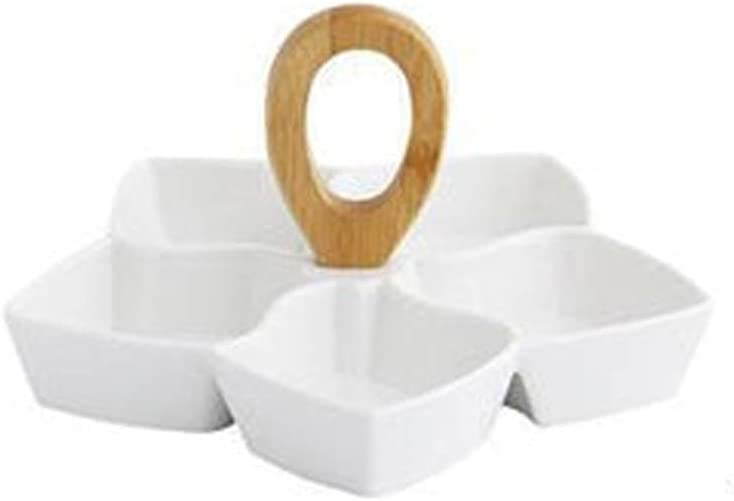 Family essentialsCreative Ceramic Dried Simple Online limited product Livi Max 69% OFF Fruit Plate