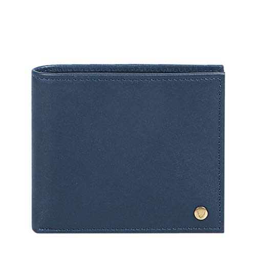 Hidesign Blue Men's Wallet (Hidesign EE 017Sc RF Men's Wallet)