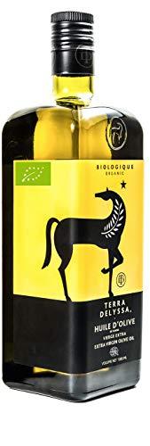 Terra Delyssa Bio-Olivenöl | Natives Olivenöl extra | 1 Liter | Erstklassige Restaurant Qualität & kalt gepresst | 100% tunesisch | Milder Geschmack | Koscher | Zum Kochen & für die kalte Küche