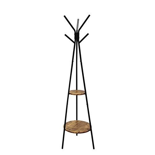 JIAO PAI Perchero Vertical, Rompevientos Industrial para Porche Y Perchero Perchero Negro Creativo En Forma De árbol(Size:179 * 49CM)
